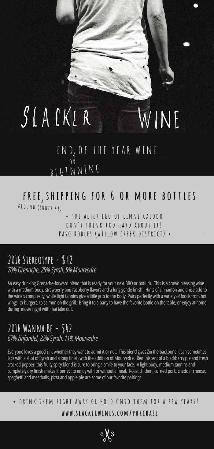 slacker holiday edit3 Slacker Wines Update