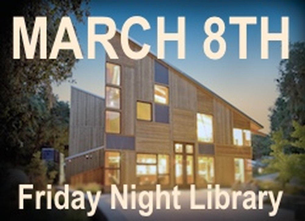 Friday Night Library ticket March 8th